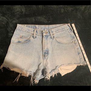 Vintage Wrangler shorts - high waisted